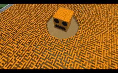 Minecraftの巨大迷路に挑戦してみた