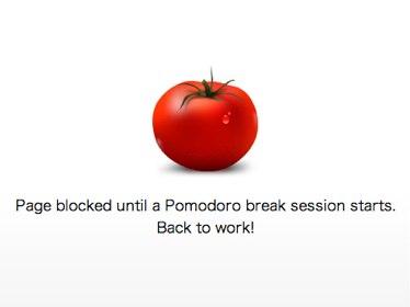 時間を浪費させるサイトをPomodoroのように一定時間だけアクセス禁止にするChrome拡張機能