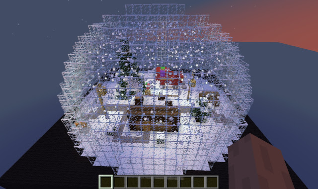 how to make a snow world in minecraft windows 10