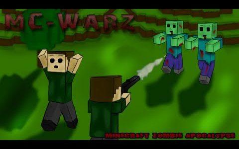 Minecraft版DayZのマルチ対戦がクソ面白い(MineZ鯖ではない)