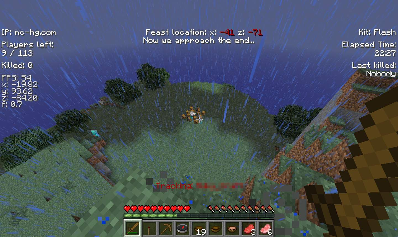 Minecraft hunger games for Mine craft hunger games