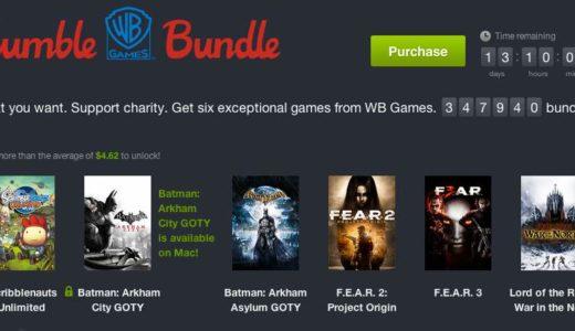 バットマンシリーズが投げ売り中(Humble Bundle)。確実に今が買い時