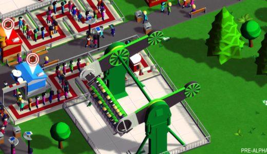 新テーマパークみたいな遊園地経営ゲーム