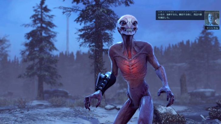xcom2のゲーム画面