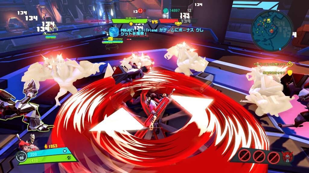 刀を扱うラースは、ストーリーモードのCoopでならミニオン破滅係として簡単に活躍できる