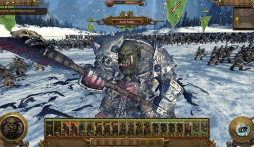 PC版Total War:WARHAMMERをSteamの約3割引で購入。日本語化された状態でプレイしたいけど…