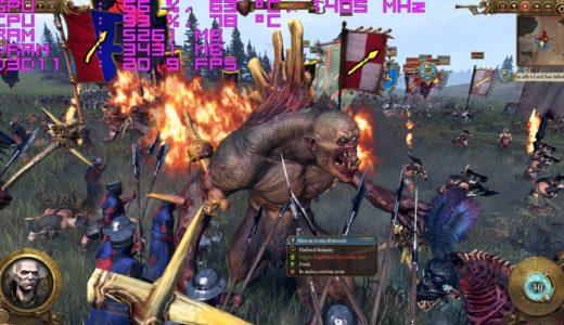 PC版Total War:WARHAMMERの推奨スペック/ベンチマークとPC購入ガイド