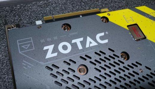 「ZOTAC GeForce GTX 1070 AMP Edition」レビュー。最安値クラスのコスパで、室温34度でもGPUを77度以下に保つ冷却性能
