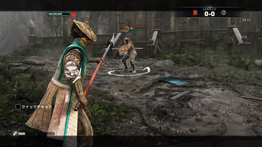 リーチの長い「野武士」対、ガード崩しの得意な「ヴァルキリー」