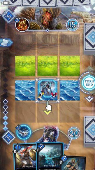 スペルやガーディアンパワーによって地形を変更できる。