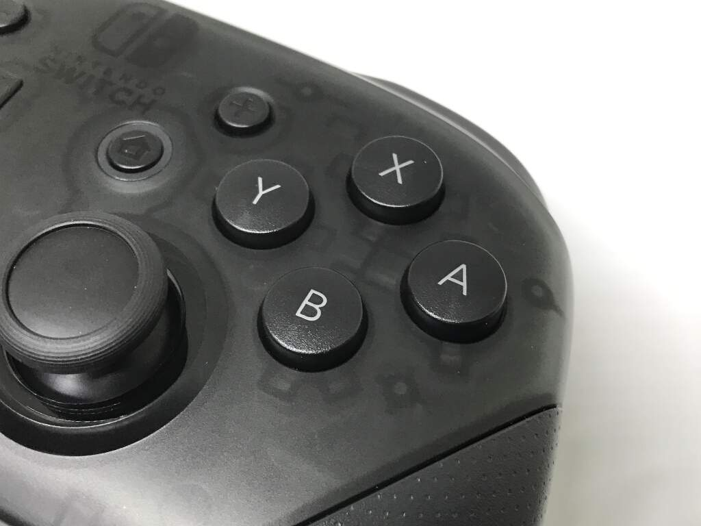 ボタンが大きい
