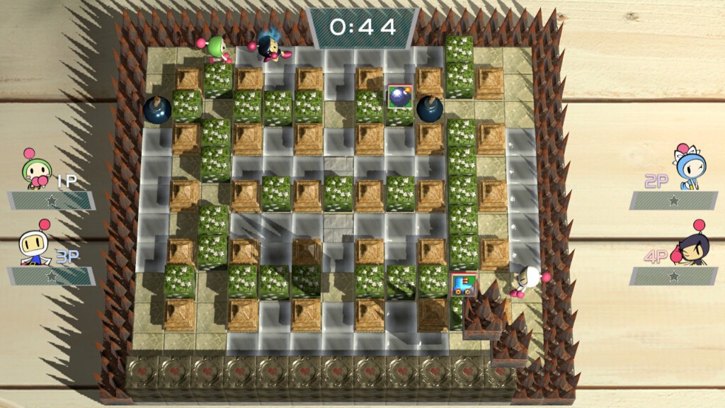 オンライン対戦で使われるステージは基本的にキャラクターを視認しやすいものが多く、床が滑るステージではプレイヤーをいい具合に罠に陥れてくれる