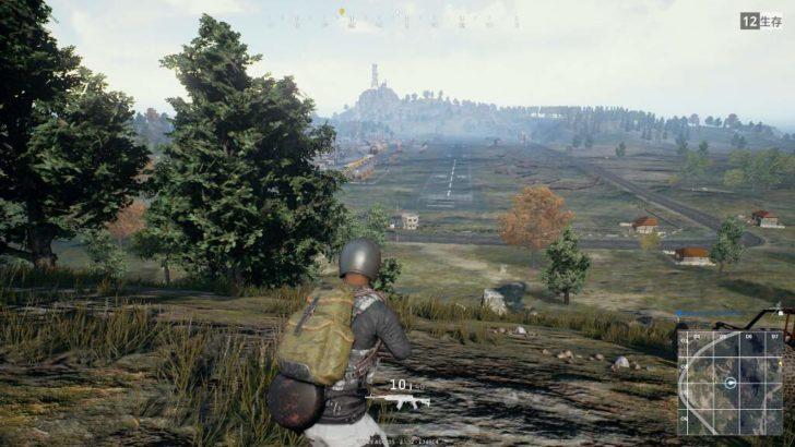 広く見渡せる所が多いので、木に隠れて敵がいないか確認し、一気に走って移動するのを繰り返すのが普通。