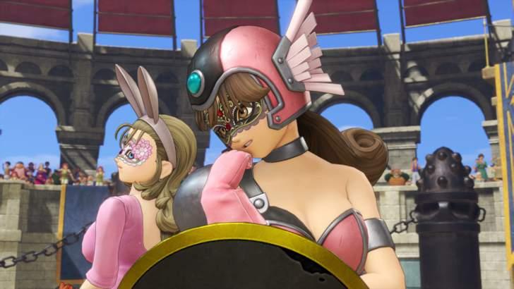 仮面武闘会にはセクシーな格好のビビアンとサイデリアという女性キャラが登場。仮面武闘会では全ての試合で滞りなくクリアできました