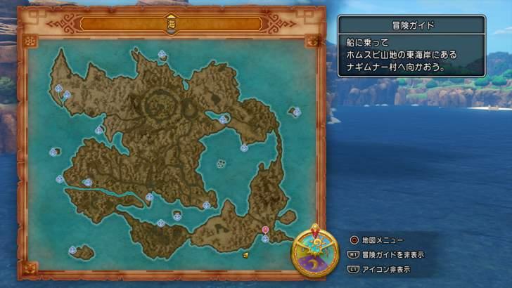 まだ行ったことがない場所でも、地図を見ればどこに船が止められるかが分かってしまう