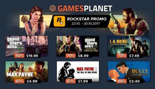 PC版GTA5が50%OFF!Gamesplanetがロックスター作品セールを開催