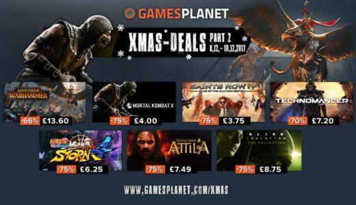 PCゲームが安い!Gamesplanetがクリスマスセール2017を開催していた件