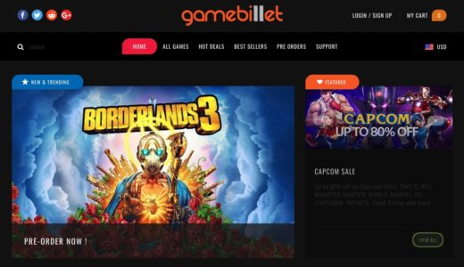 GameBillet(ゲームビレット)でのキー購入方法や返金規則を丁寧に解説