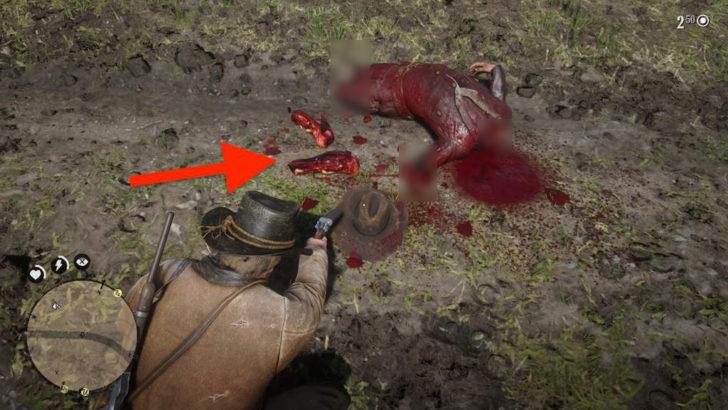 PC版における死体の欠損表現は海外PS4版と同じ。腕の一部がそのまま残ります。つまりPC版は無規制です(切断面にモザイクを入れています。ゲームプレイ時にはモザイクは入りません)