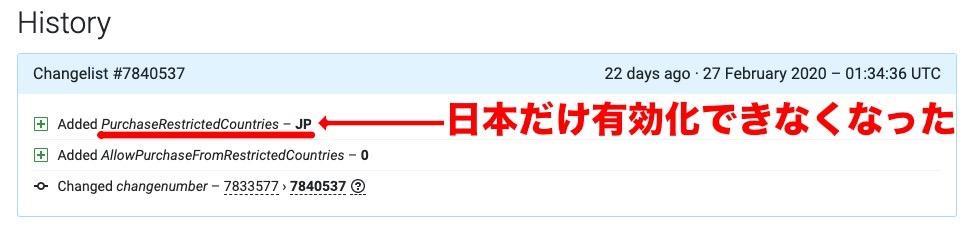 「日本からでも有効化できる海外版(Sub ID 310053)」にリージョンロックが追加された瞬間