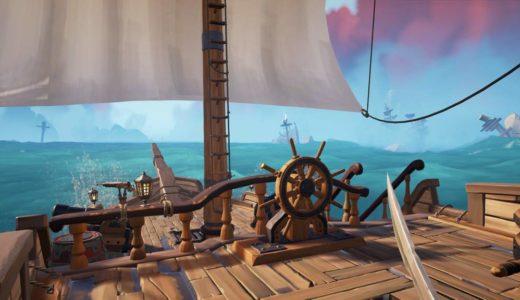 Sea of Thievesという海賊オンラインゲームがヤバいかもしんない【感想】