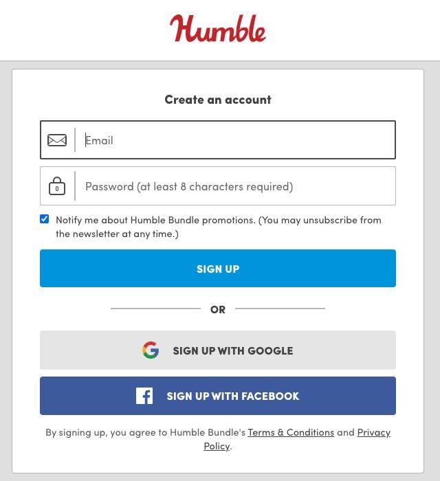 メールアドレス、使いたいパスワードを入力し、SIGN UPをクリック
