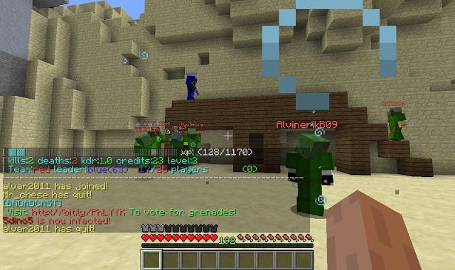 3minecraft cod002 MinecraftでCall of DutyをPvPマルチサーバーで対戦して遊ぶ方法
