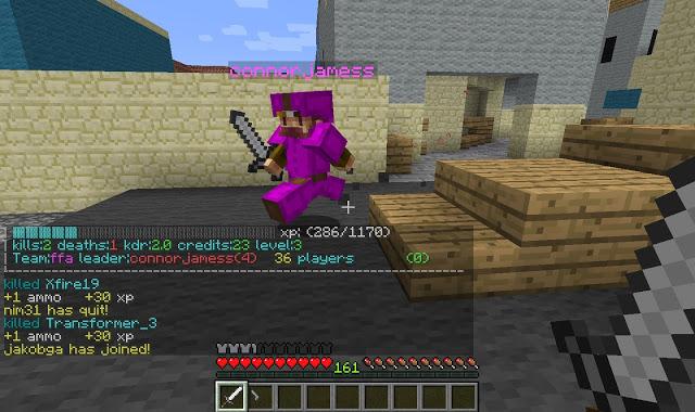 3minecraft cod006 MinecraftでCall of DutyをPvPマルチサーバーで対戦して遊ぶ方法